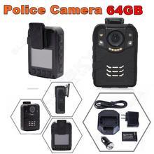 !64GB Ambarella A7L50 Super HD 1296P 2K Police Worn Camera 170 Hours 60fps IR - Hopezone007 store