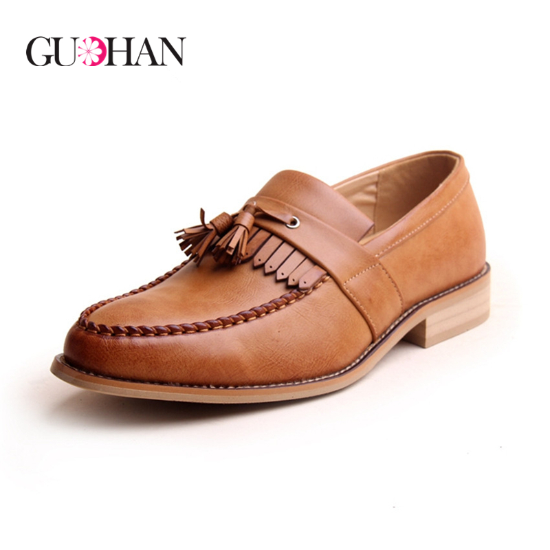Men Loafers Top Fashion Boat Shoes Male Flats Casual Shoe Trend Slip On Genuine Leather Moccasin oxford Men Loafer Shoes