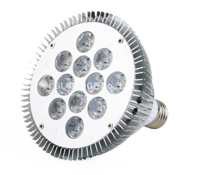 Dimmable Par38 12*2W LED Lamp E27 Spot light par38 HIgh Power bulbs High power Cool/Warm White 85-265V Free Shipping(China (Mainland))