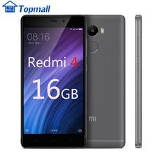 "Original Xiaomi Red rice 4 2GB RAM 16GB ROM Snapdragon 430 Redmi 4 Mobile Phone 4100mAh Battery Fingerprint ID 5.0"" Metal Body(China (Mainland))"