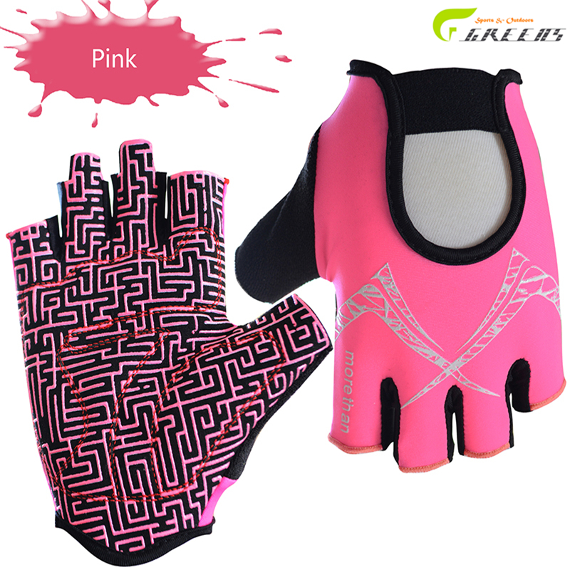 Women/men's Outdoor Sport Gloves Summer Cycling Bike Bicycle Riding Gym Fitness Half Finger Gloves Shockproof Mittens M/L/XL(China (Mainland))
