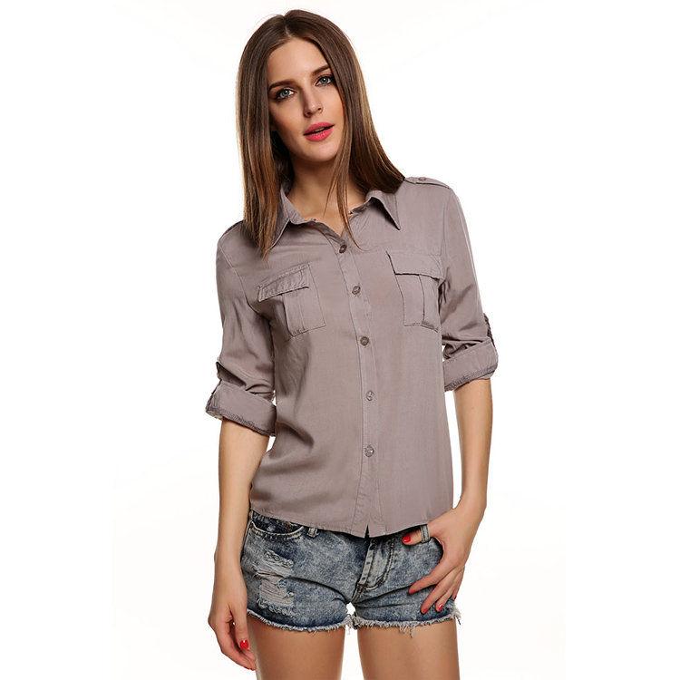 Women Blouses Fashion Women 39 S Long Sleeve Shirt Casual