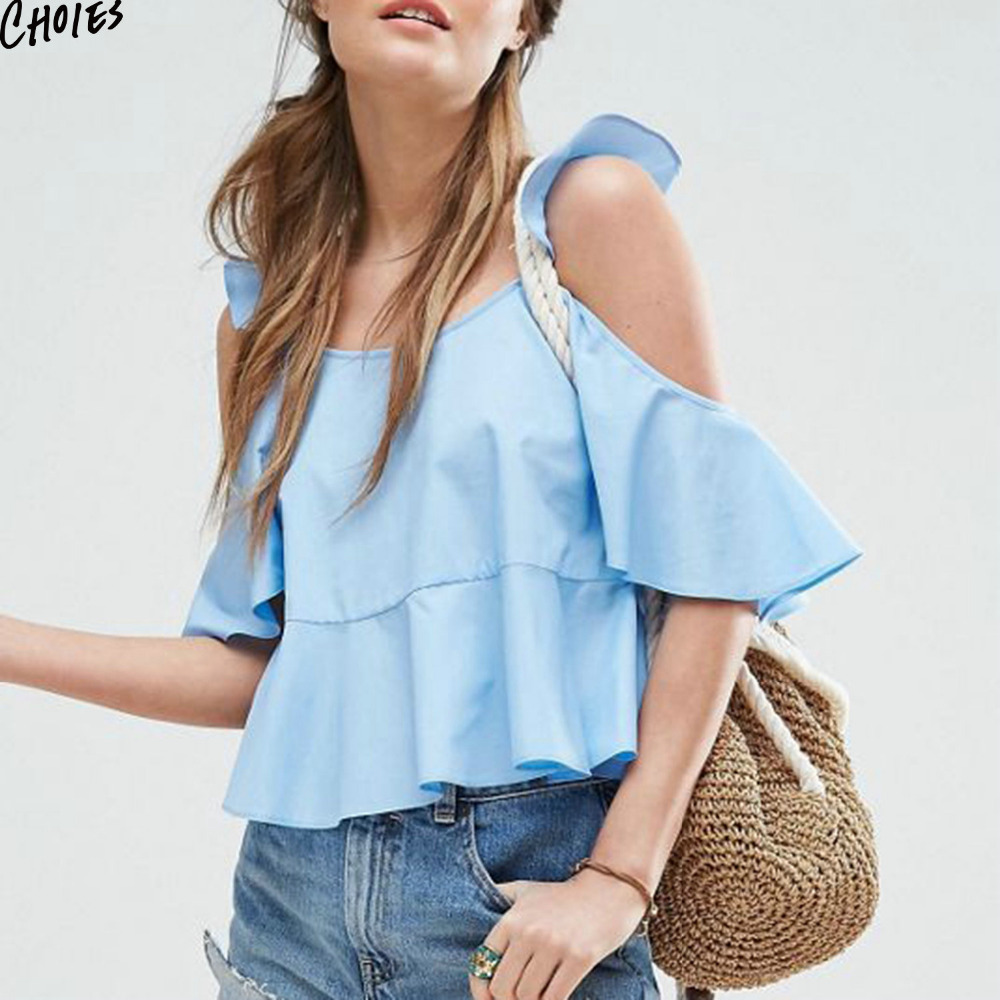 Compare Prices on Ruffle Half Shoulder- Online Shopping/Buy Low ...