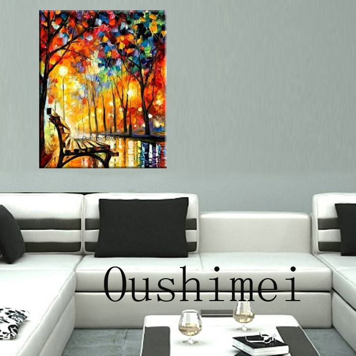 Colorful Hand Painted Impressionist Oil Painting on Canvas Apply to Home Decoration in Hotel Living Room Library Store Painting(China (Mainland))