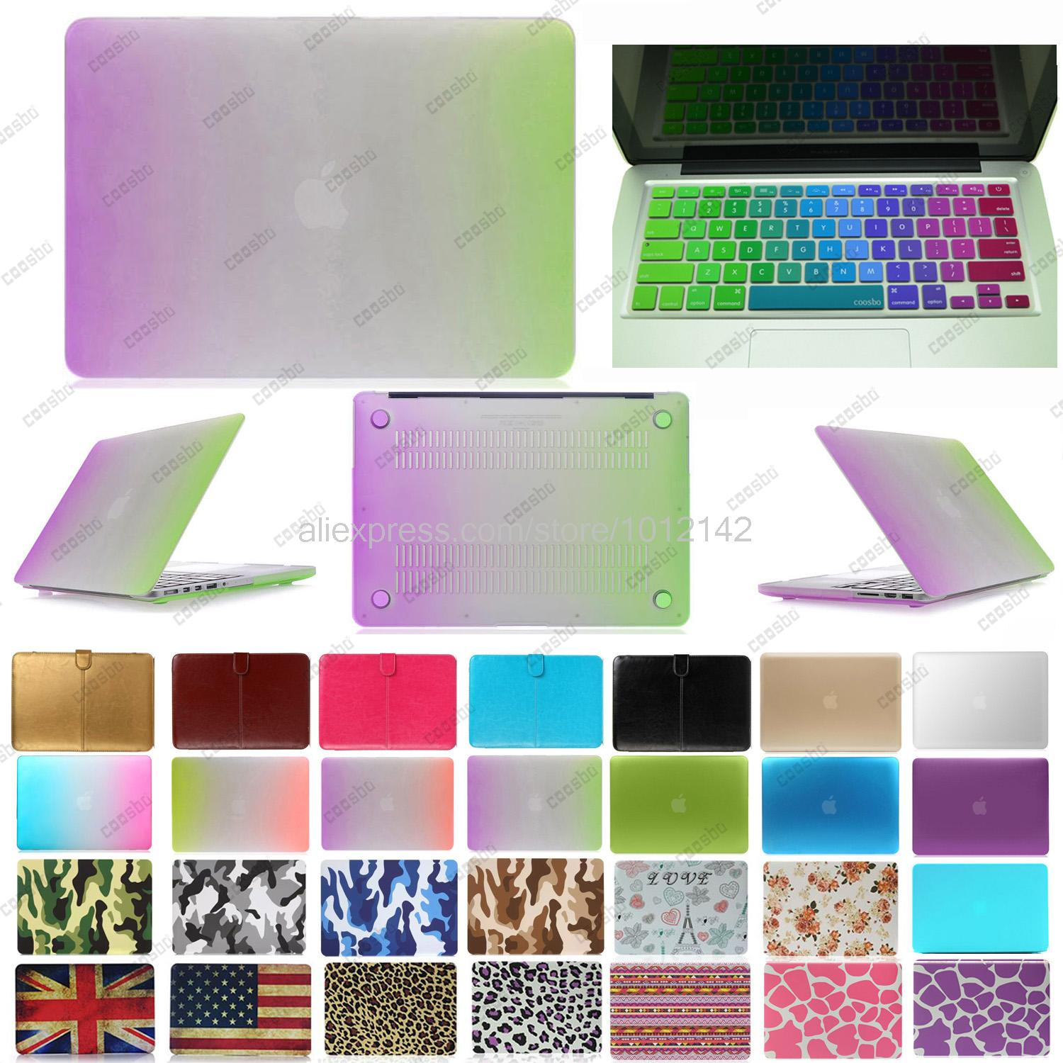 "2in1 freeship colorful shell Hard Case For mac Macbook Air Pro Retina 13"" 15"" + Germany German Keyboard Cover Skin protector(China (Mainland))"