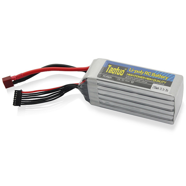 Taotuo Lithium Lipo Battery 22.2v 2200mAh 25C T Plug for RC Helicopter Airplance Quadcopter<br><br>Aliexpress