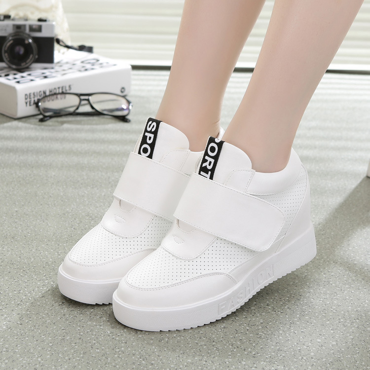new european fashion flats trainers breathable sport