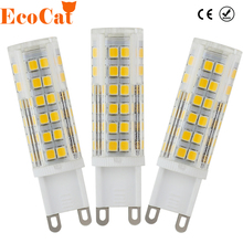 Buy LED G9 AC 220v lamp LED bulb Crystal high power SMD 2835 3014 7W 9W 12W led light Chandelier spotlight replace halogen lamp for $1.19 in AliExpress store