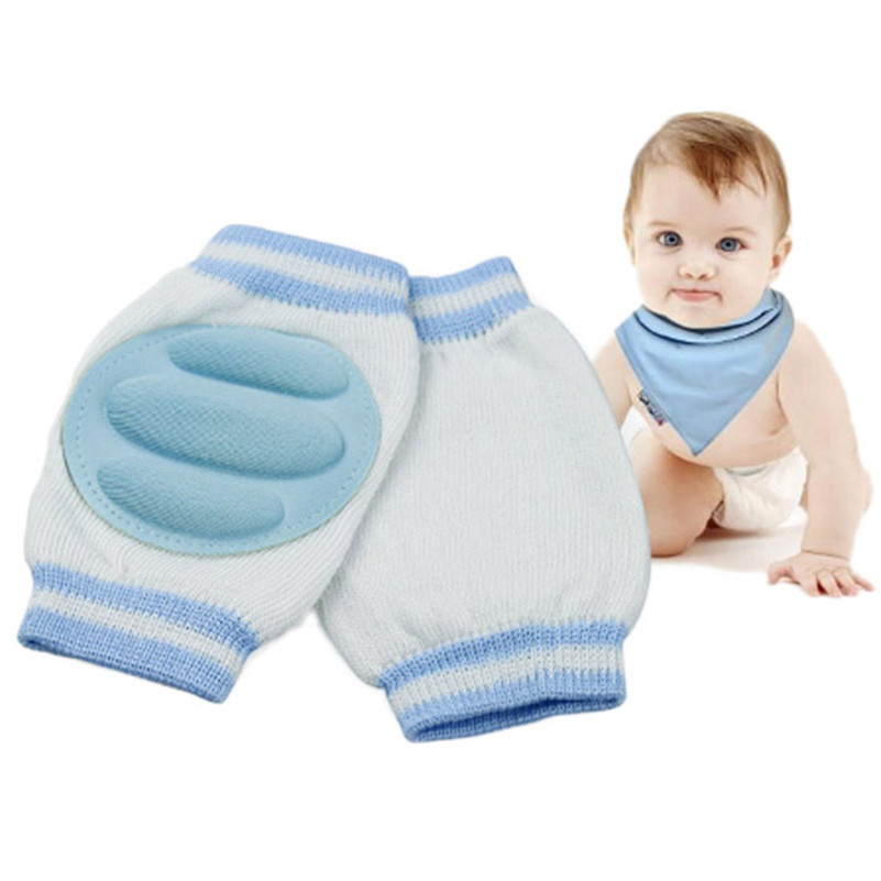 Stylish 1 Pair 6 Color baby Kid Safety Crawling Elbow Cushion Infant Toddlers Knee Pad Protector leg warmers kneecap for Newborn(China (Mainland))