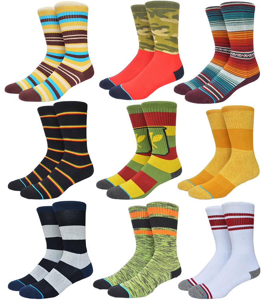 American Brand Stanced Socks Skateboard Combed Cotton Terry Basketball Socks Sport Calcetines Mens Socks(China (Mainland))