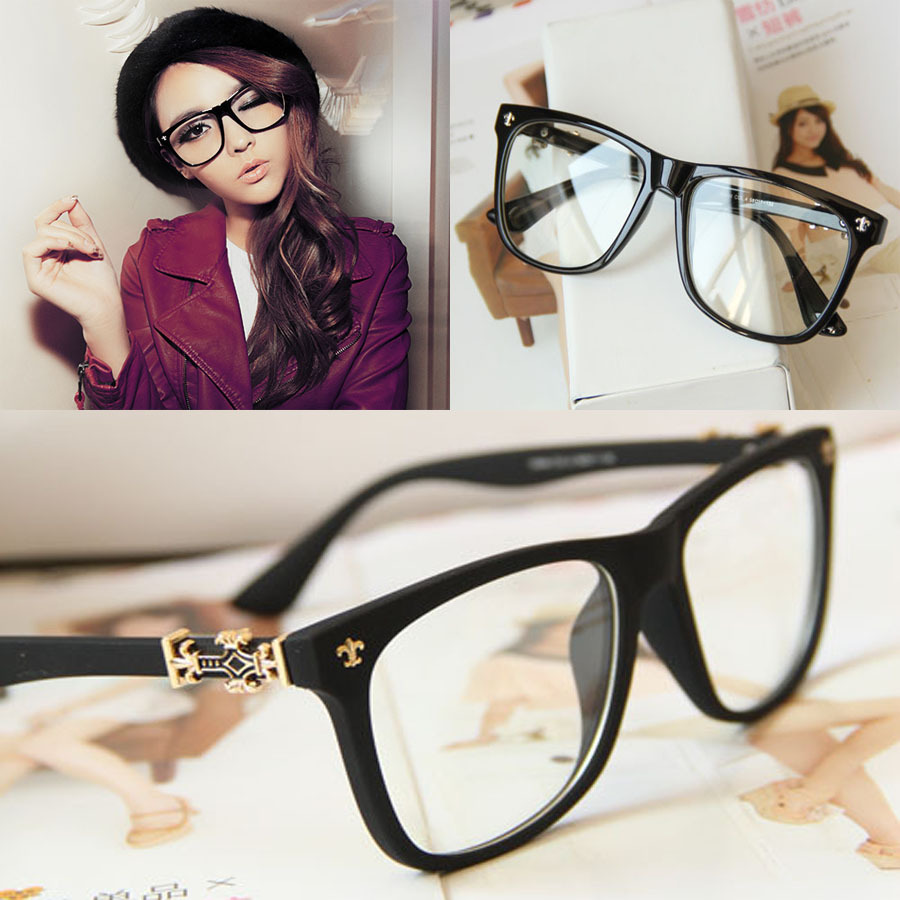 2013 Fashion Famous Designer Brands Women And Men Eye Glasses Frames Korean Vintage Prescription Glasses Frames Free Shipping