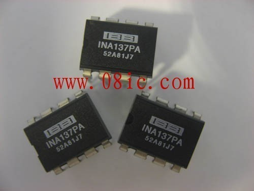 Free shipping INA137PA audio differential line receiver imported original DIP8(China (Mainland))