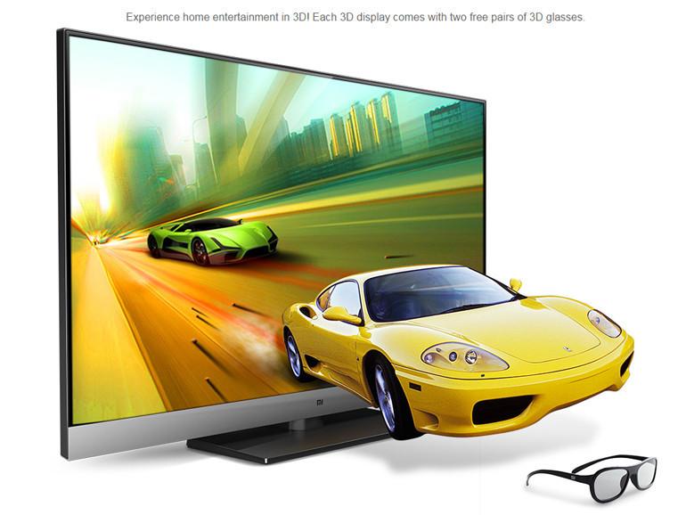 2016 New TV Original Brand Design Xiaomi TV 2 Smart 3D Ultrathin HD 4K TV 49 Inch 3840*2160 Quad Core Household TV Television