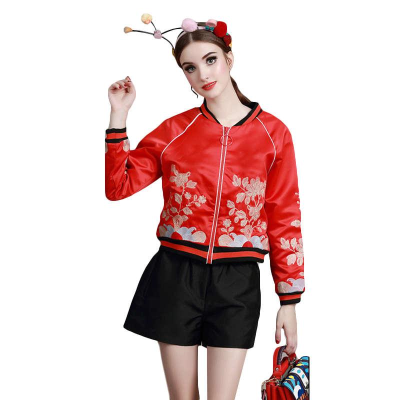Online Get Cheap 2016 Bomber Jacket Women Red -Aliexpress.com ...