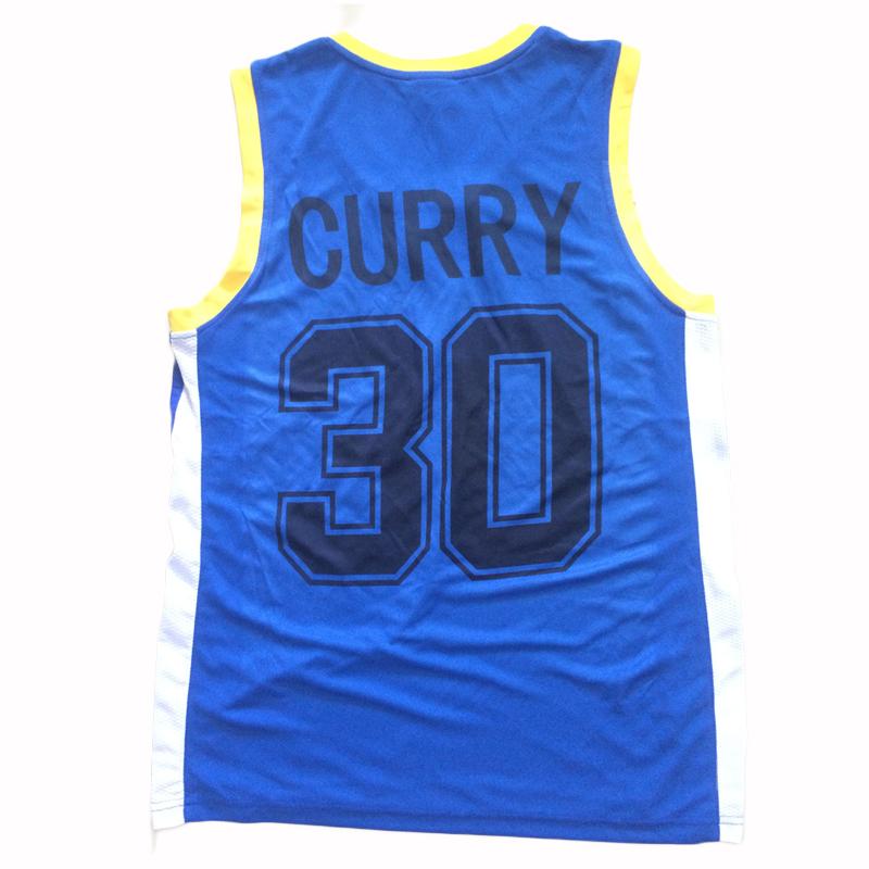 2016 Polyester Cheap Throwback Basketball Jersey Curry Shirts Shorts Mens Throwback Basketball Jersey Sports Brand Jerseys(China (Mainland))