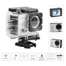 4K Action Camera Full HD 1080p 60fps WiFi Sports DV 2.0 LCD 170 Degree Cam 30M Waterproof Mini Car Camcorder - Branded Agent Store store