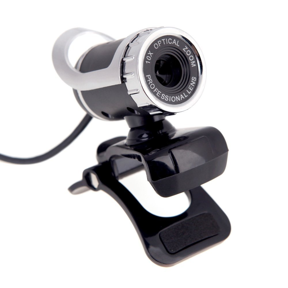 2016 New USB 2.0 12 Megapixel HD Camera Web Cam 360 Degree with MIC Clip-on for Desktop Skype Computer PC Laptop<br><br>Aliexpress