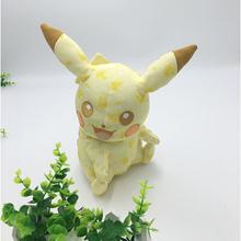 Новый Стиль 24 см Пикачу Плюшевые Игрушки Аниме Покемон Плюшевые Игрушки детский Подарок Игрушки Детские Мультики Peluche Pokemon Пикачу плюшевые Куклы