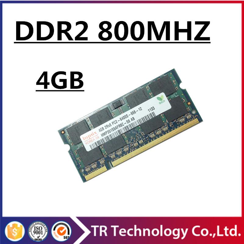 Brand memory ram ddr2 4gb 8gb 800Mhz pc2-6400 so-dimm laptop, ram ddr2 4gb 800 pc2-6400s sodimm notebook, 4gb ddr2 memory sdram(China (Mainland))