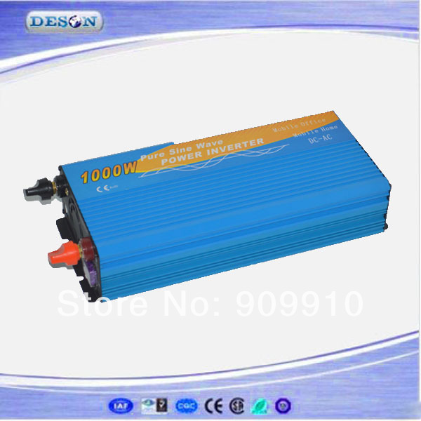 High quality power inverter generator , 1000W 24VDC to 110VAC/120VAC/220VAC/230VAC wind power inverter(China (Mainland))