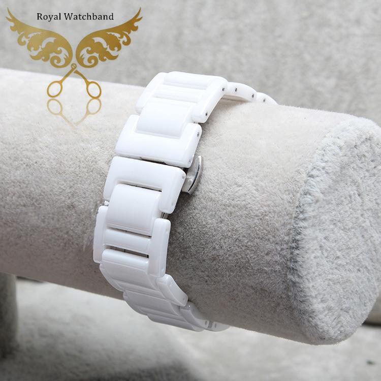 Продвижение! Высокое качество алмазов керамический белый ремешок браслет группа для бренда бесплатная доставка