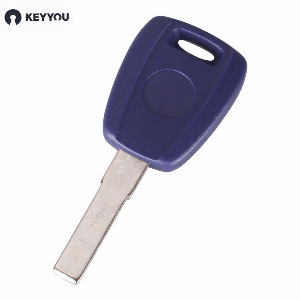 KEYYOU 10X Replacement Chip Key Blank Car Key Shell For Fiat For TPX Chip SIP22 Blade Without Chip With Logo(China (Mainland))