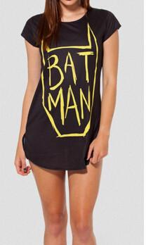новые осенние летние наряды приключения время друзья gft t рубашка короткий рукав мультфильм Бэтмен коллекции женщин
