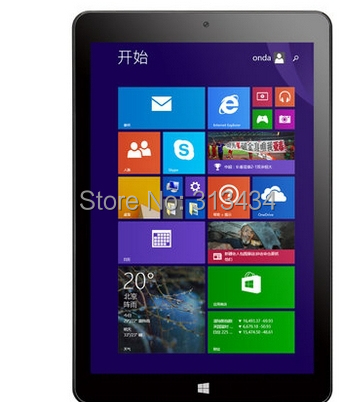 Hot sale Onda V819W for Intel Z3735 Quad Core 8 Inch Win8 Tablet PC Windows 8