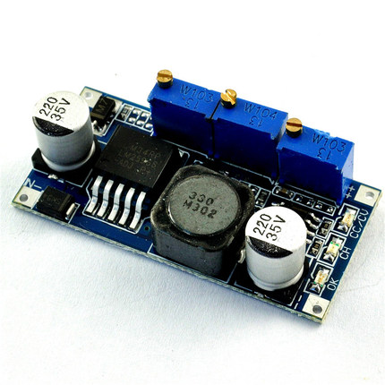 LM2596 CC/CV Constant current constant voltage LED driver module lithium battery charging power module for Arduino(China (Mainland))