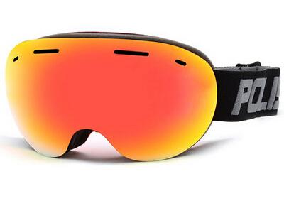 POLISI Men Women Ski Goggles Big Spherical Double Layer Lens Snowboard Snow Glasses Anti-Fog UV400 Snowmobile Protective Eyewear<br><br>Aliexpress