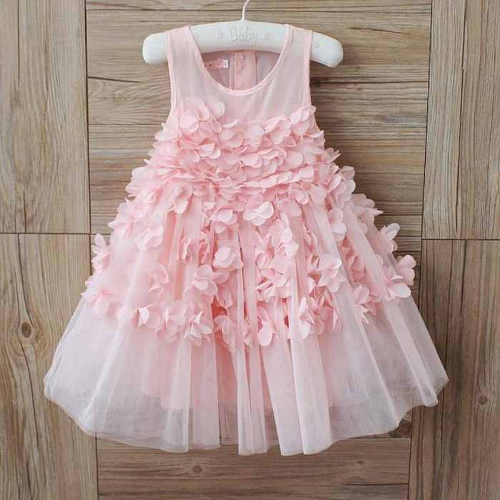 Cute Fashion Kids Girls children Baby floral Princess Party Dresses toddler girls clothing(China (Mainland))