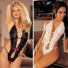 Hot Sale Sex Products Sexy Costumes Women Underwear Lady Sexy Lingerie Transparent Conjoined Dress Suit Leotard Intimates(China (Mainland))