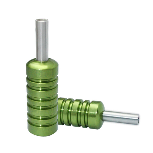 Free Shipping!New Green 60g Aluminium Alloy Grip Tube Supply For Machine Gun Needle Tip Tattoo & Body Ar