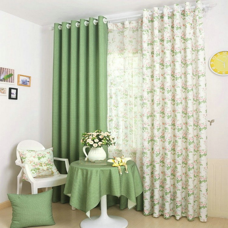 Aliexpress.com : Buy Rustic/Pastoral Window Curtain For
