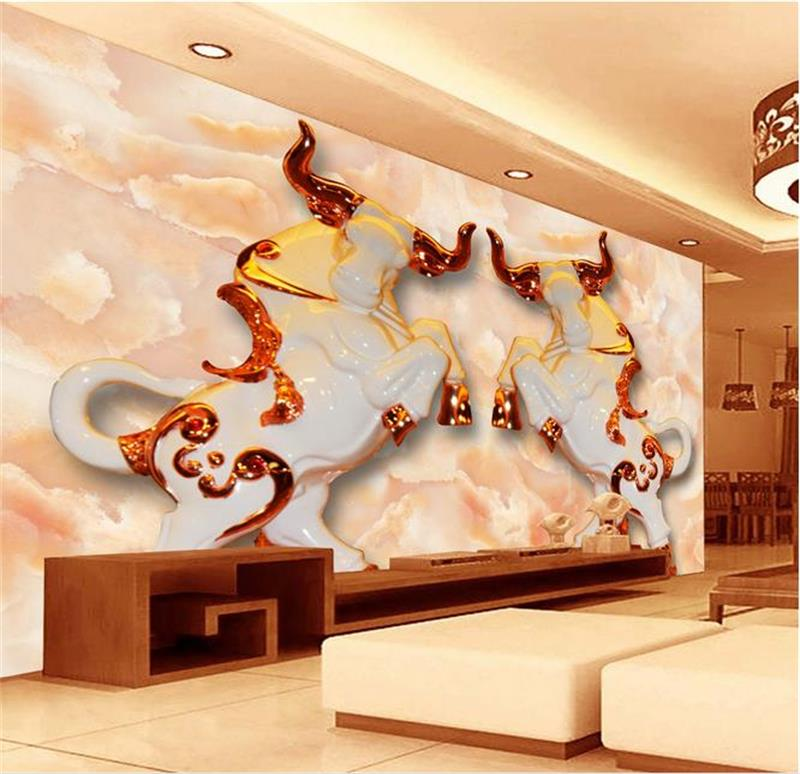 Compare prices on cow print wallpaper online shopping buy for Custom mural cost