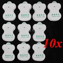 10 Pcs Electrode Pads For Tens Digital Acupuncture Therapy Machine Massager High  Quality