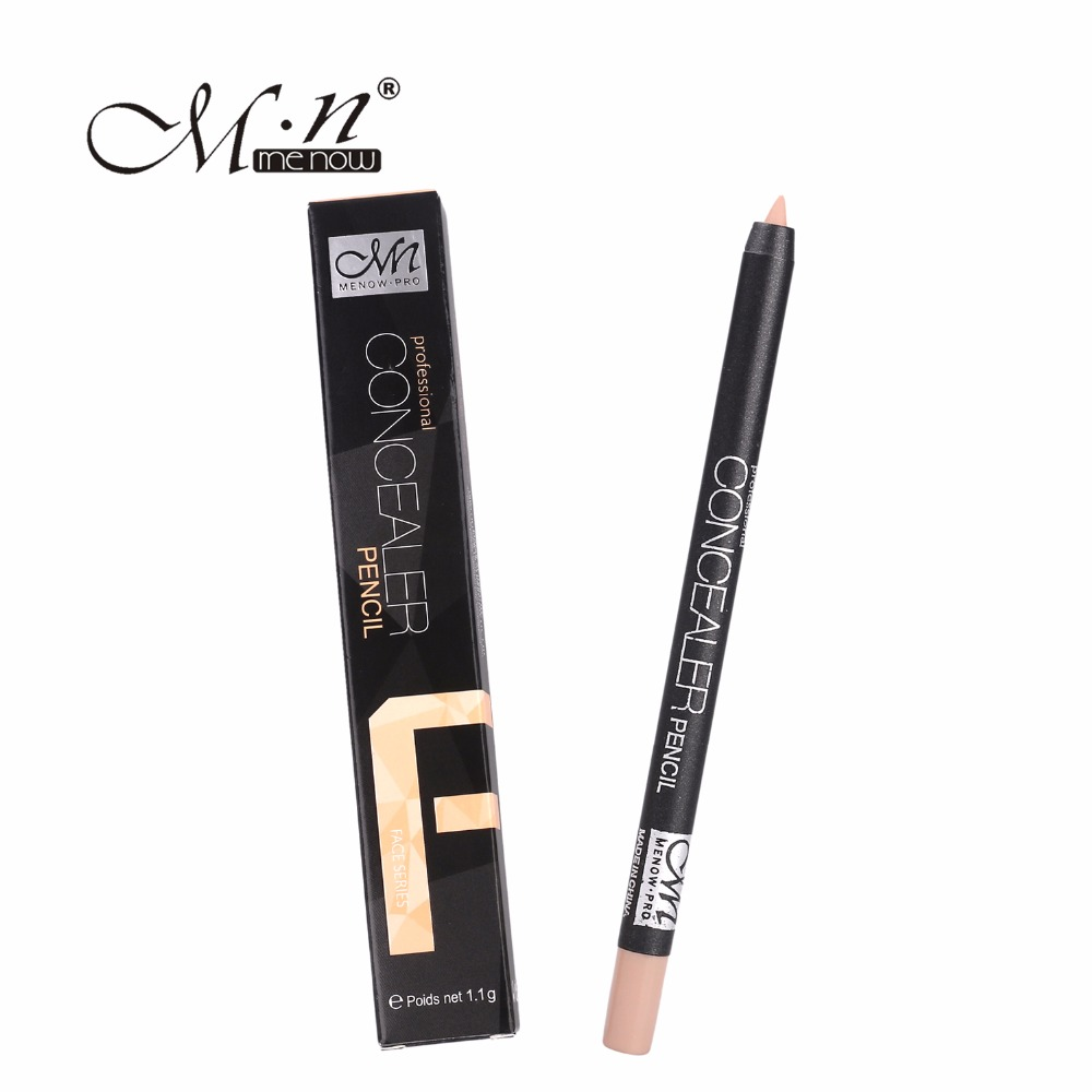 M.n Menow Brand Professional Concealer Pen Cover Acne Black Eye Freckles Lip / Face Cream Concealer Pen(China (Mainland))