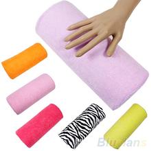 Hot Sale  Half Hand Cushion Rest Pillow Nail Art Design Manicure Care Salon Soft Column  06VV(China (Mainland))