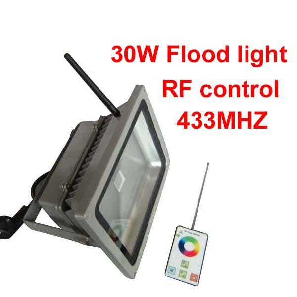 ip65 cob rgb led flood light 30w 433 hz rf remote control waterproof outdoor landscape wall lighting led floodlight high quality<br><br>Aliexpress