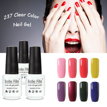 Buy BELLE FELLE 8ml Color UV Nail Gel High Soak Gel Nails Polish New Fashion Nail Art Free Bling Nail Varnish for $1.72 in AliExpress store