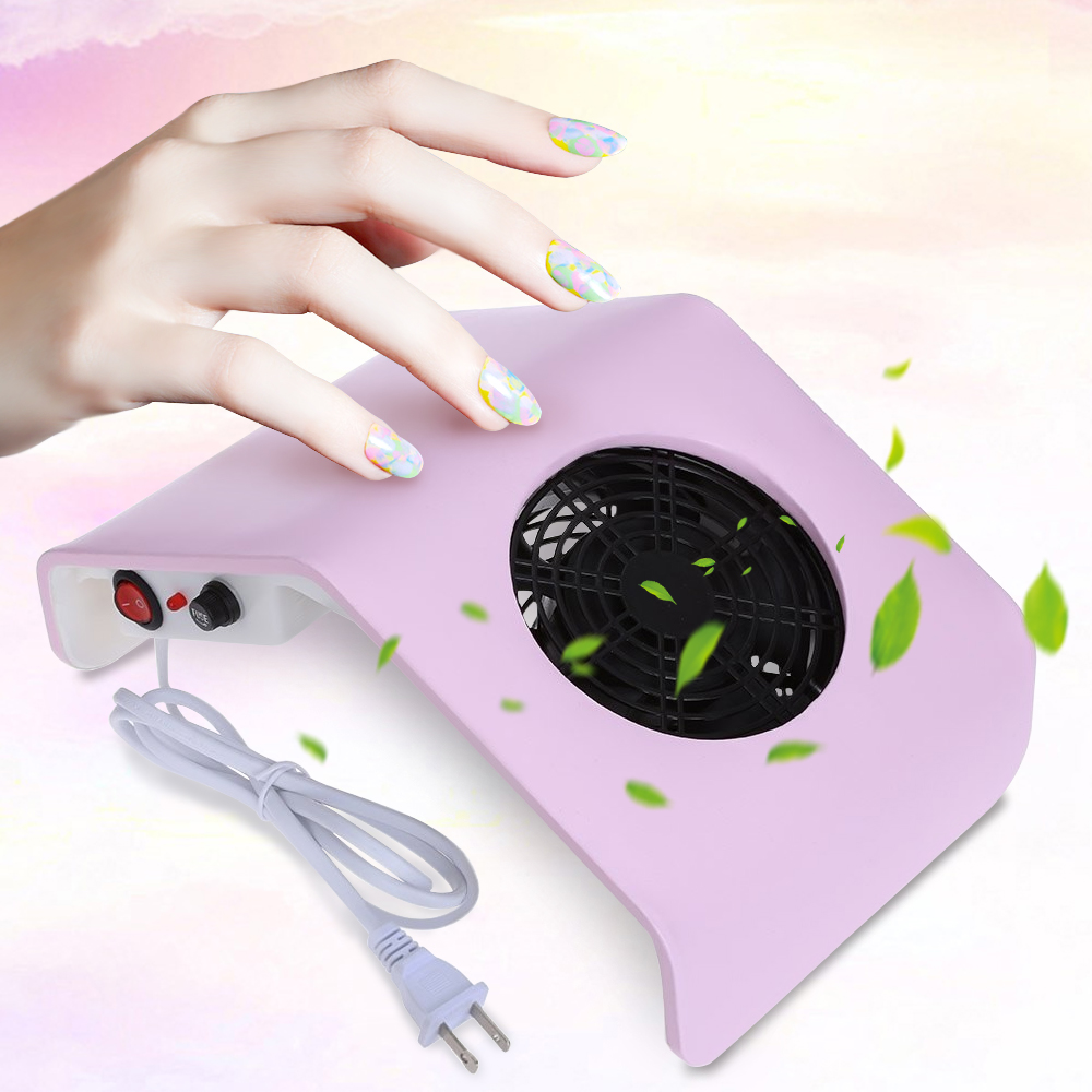 High Quality Vacuum Cleaner Suction Nail Art Salon 30W 220V Suction Display Nail Dust Collector UV Gel Manicure Machine Tools(China (Mainland))