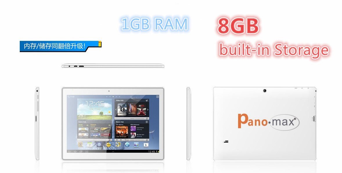 10 1 inch Quadcore IPS tablet pc Allwinner A31S 1280 800 pixels support Wifi bluetooth HDMI