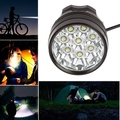Free Shipping 8000Lm 8x XM L T6 LED Front Bicycle Light Bike Headlamp Headlight H1E1