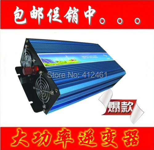 Factory Sell 2000W Pure Sine Wave Inverter 12VDC, 220V AC Power Inverter, Solar Inverter Car Inverter Converter