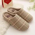 2016 New Japanese Style Men Women House Indoor Floor Slippers Wool Winter Warm Indoor Home Cotton