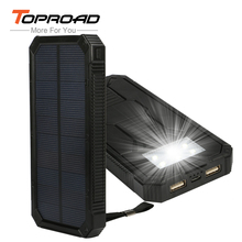 Portable Power Bank 10000mAh Solar Charger Power Camping LED Lamp Lantern Solar Panel Charger External Battery for Cellphone PC(China (Mainland))