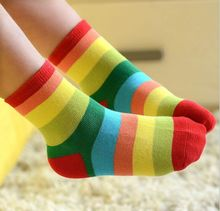 Free Shipping Kids socks cartoon 1 lot 5 pair children Socks Cotton 3 to 12 Years girl Socks,pleid boys socks(China (Mainland))