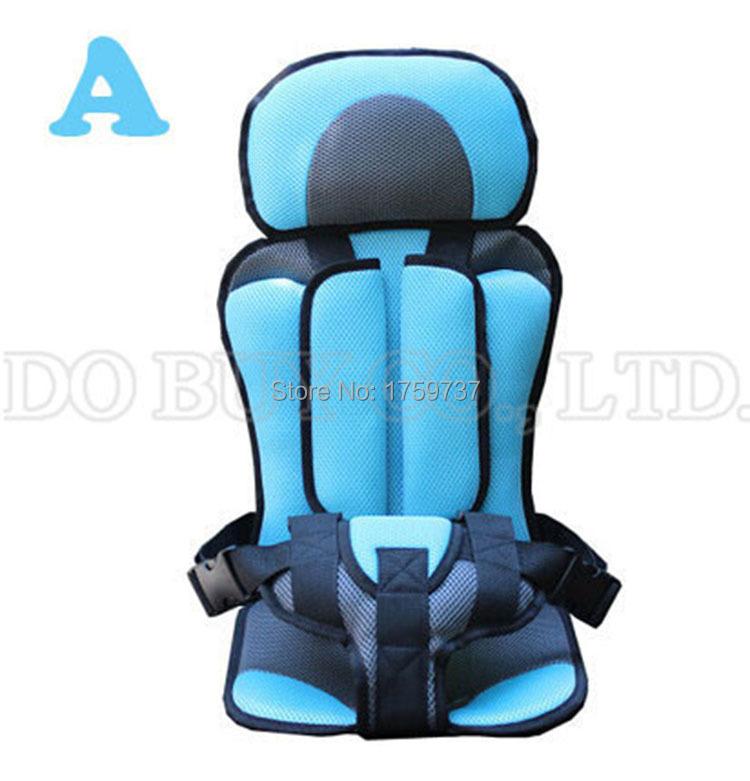 Бесплатная доставка портативный безопасности детское кресло, Детские стулья в машине, Обновленная версия, Утолщение губка дети автокресла