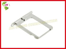 100pcs/lot Original  Silvery SIM Card Tray Slot Holder  Replace Spare Parts for  4 4g(China (Mainland))