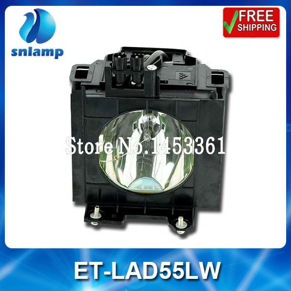 Фотография Replacement projector bulb lamp with housing ET-LAD55LW ET-LAD55L  for PT-D5500 PT-D5500U PT-D5500UL PT-D5600 PT-D5600U ...